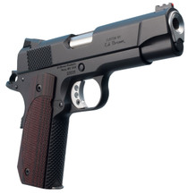 "Ed Brown Kobra Carry Lightweight Single 9mm 4.25"" 8+1 FOF Laminate Wood Grip Black Gen4 Stainless Steel"