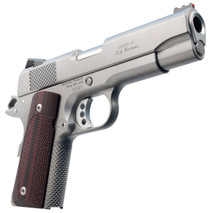 "Ed Brown CCO Single 45ACP 4.25"" 7+1 FOF Black VZ Grip Stainless Steel"