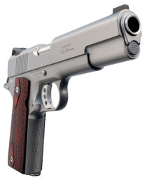 "Ed Brown Executive Elite Single 45 ACP 5"" Barrel, Black VZ Grip Stainless Steel, 7rd"