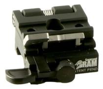 Samson RAM-3XM RAM Base with Side Flip Mount Black Finish