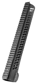 "Samson Evolution AR-10 Handguard 12.5"" 6061-T6 Aluminum Black Hard"