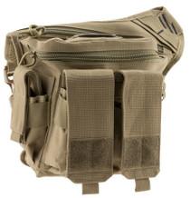 G*Outdoors Rapid Deployment Pack Tan Range Bag/Messenger Bag 600D Polyes