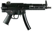 "PTR 9C Pistol 9mm, 8.86"" Barrel, Steel Frame, Black, 3 Lug Barrel, Aluminium M-LOK Handguard, 30rd"