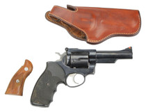 """Ruger Security Six, .357 Magnum, 3"""" Barrel, USED W/Holster and Extra Grips"""