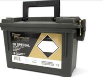 CCI Blazer 38 Special 125gr, Full Metal Jacket 200 Round Can