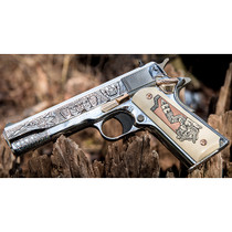 "Colt Mexican Heritage 1911, .38 Super, 5"" Barrel, Limited Edition, 1 of 429"