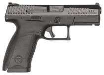 "CZ P-10 C, 9mm, 4"" Barrel, 10rd, 3-Dot Sights, Black Nitride Finish"