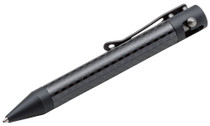 "Boker Plus Tactical Pen 4.32"" 0.99 oz Contact Black"
