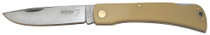 "Boker Plus Folder 3.5"" Stainless Steel Drop Point Polymer Sand"