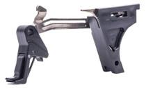 CMC Triggers Glock Trigger Kit Flat Glock 43 Gen4 9mm 8620 Steel Black