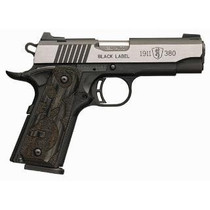 "Browning Black Label Medallion Pro 1911, .380 ACP, 3.58"". 8rd, Laminate Grips"