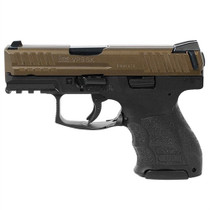 "HK VP9SK, 9mm, 3.39"", Midnight Bronze Finish, 2- 10rd Mags"