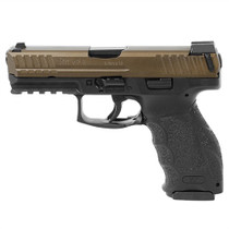"HK VP9, 9mm 4"" Barrel Night Sights Ambi Safety Midnight Bronze 3- 15rd Mags German Made"