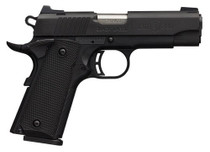 "Browning Black Label Special Compact 1911, .380 ACP, 3.625"", 8rd, Black"