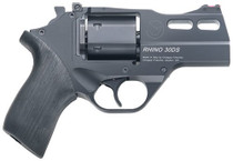 "Chiappa Rhino 30SAR, .357 Magnum, 3"" Barrel, 6rd, Black, Rubber Grip"