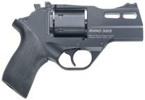 "Chiappa Rhino 30SAR, .357 Magnum, 3"" Barrel, 6rd, Black, Rubber Grip"