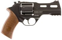 "Chiappa Rhino 40SAR, .357 Magnum, 4"" Barrel, 6rd, Walnut Grip, Black Stainless Steel"
