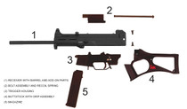 "HK USC Carbine, 45 ACP, 16"" Barrel 10rd Magazine- Limited Production#2"