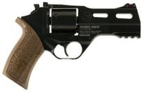 """Chiappa Rhino 40DS, 9mm, 4"""" Barrel, 6rd, Walnut Grip, Black"""