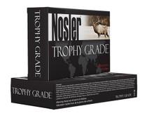 Nosler Trophy 9.3mmX62 Mauser 250GR AccuBond 20rd/Box Brass