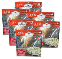 Wise Foods Outdoor Food Kit Pasta Alfredo with Chicken Dehydrated/Freeze