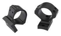 """Winchester Guns 2-Piece Base/Rings For XPR 1"""" Rings Medium Height Black M"""