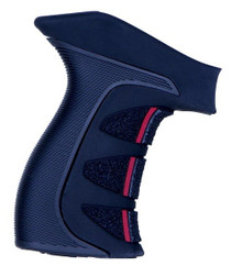 X2 Scorpion Revolver Grip Black With Red Accents For Taurus Large Frame