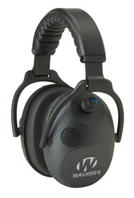Walkers Game Ear Alpha Muffs SSL Earmuff 24 dB Carbon Graphite