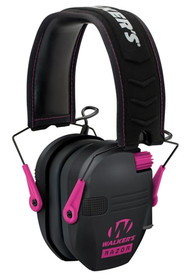 Walkers Game Ear Razor Slim Shooter Folding Earmuff 23 dB Black/Pink