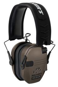 Walkers Game Ear Razor Slim Shooter Folding Earmuff 23 dB Flat Dark
