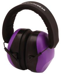 Pyramex Glasses VentureGear PM8010 Ear Muffs NRR 26db Purple Clampacked