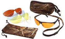 Pyramex Shooting Kit Shooting/Sporting Glasses Black Matte