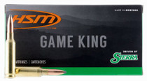 HSM Game King 6.5 Creedmoor 140gr, Sierra GameKing 20 Bx/ 20 Cs