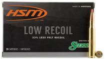 HSM Lowrecoil 30-06 Springfield 150gr, Ballistic Tip 20 Bx/ 20 Cs