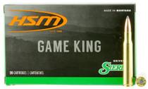 HSM Game King 300 RUM 200gr, SBT 20 Bx/ 20 Cs