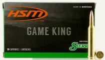 HSM Game King 7mm Shooting Times Westerner 160gr, SBT 20 Bx/ 20 Cs