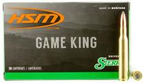 HSM Game King 270 Winchester 150gr, SBT 20 Bx/ 20 Cs