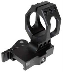 American Defense Mfg. Mount, Fits Aimpoint, Picatinny, Quick Release, Standard Height, Black