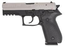 "Arex Rex Zero Standard Single/Double 9mm 4.25"" Barrel, Black Polymer Grip/Frame Grip Nickel, 17rd"