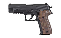 Sig P226, 9mm, 4.4In, Select, Black, Da/Sa, Siglite, Select, (2) 15Rd Steel Mag, SRT