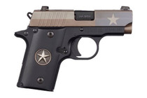 "Sig P238 Texas Flag Edition 380 ACP, 2.7"" Barrel, Thumb Safety, 6rd Mag"