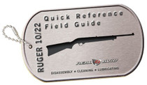 Real Avid/Revo Ruger 10/22 Field Guide Booklet