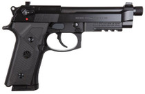 "Beretta M9A3 9MM Made in ITALY 5"" Barrel, Black 3x 17rd Mags"