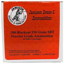Jamison 300 AAC Blackout, 150 Gr, 20rd/Box