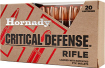 Hornady Critical Defense .223 Rem 55gr FTX bullet 20rd/Box