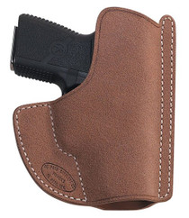 El Paso Saddlery High Slide 1911 Full Size/Compact Leather Russet