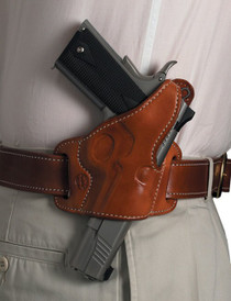 El Paso Saddlery Sky Six 1911 Full Size/Compact Leather Russet
