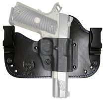Flashbang Capone 1911 Leather/Thermoplastic Black/Blue, RH
