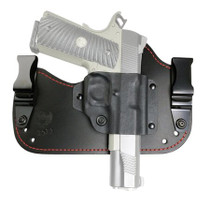 Flashbang Capone 1911 Leather/Thermoplastic Black/Red, RH