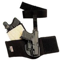 """Galco Ankle Glove 2""""/2 1/4"""" Barrels- Ruger LCR/SP101, Kimbers K6S, Colt Agent/Cobra, Black, RH"""